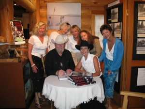 Booksigning at the North Lake Tahoe Museum