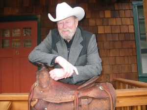 2. Bill McGee custom-made, roping saddle