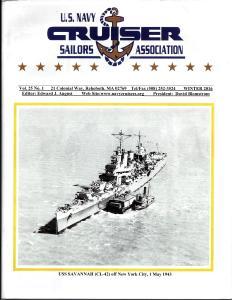 Magazine of the U.S. Navy Cruiser Sailors Association