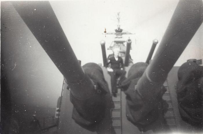 4. BillMcGee on gun turret
