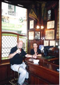Paris Harry's at bar